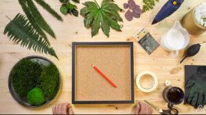 workshop moss art